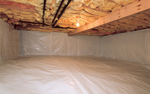 CleanSpace® vapor barrier after in Chattanooga