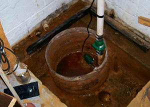 Extreme clogging and rust in a Cleveland sump pump system