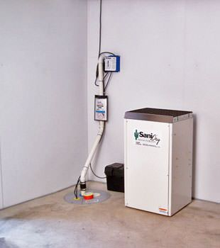 Basement Waterproofing System & Basement Dehumidifier